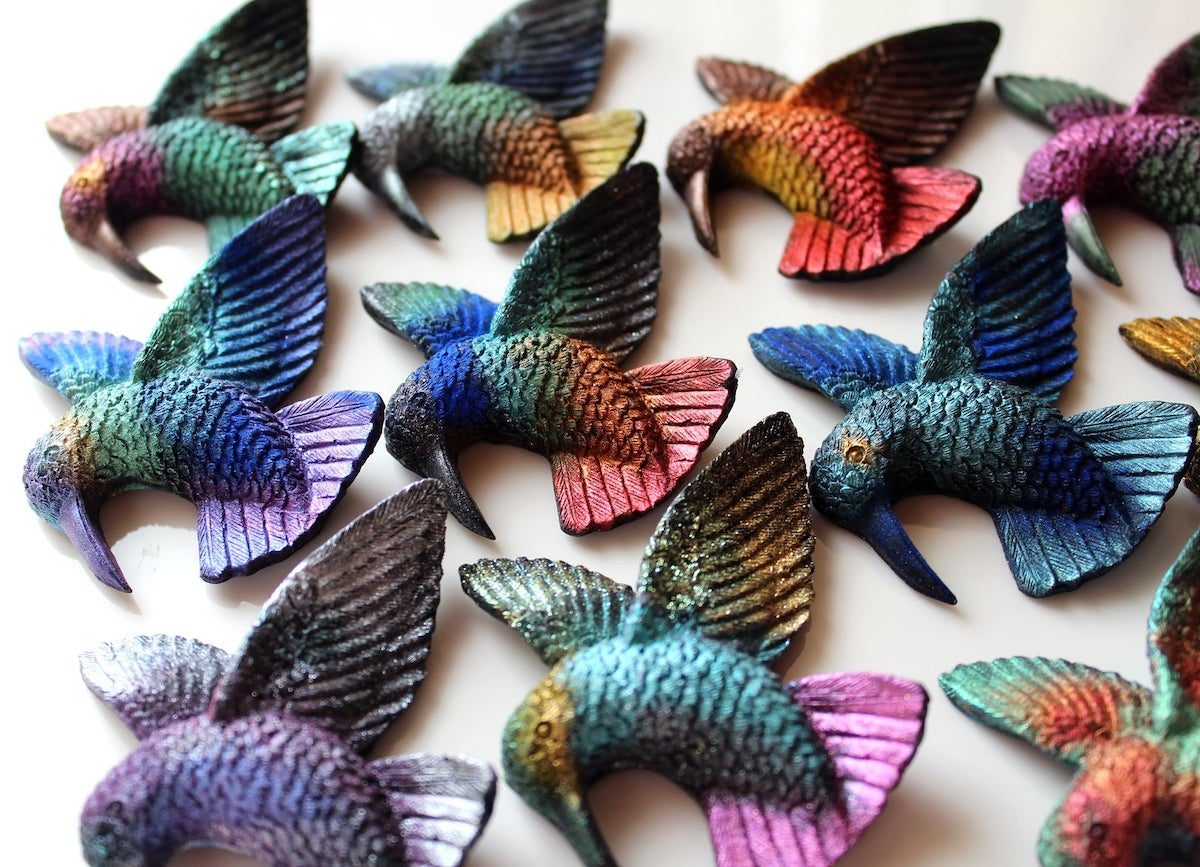 hummingbird soaps