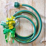 How to Make a Garden Hose Wreath