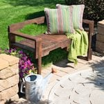How to Make a Pallet Bench for Your Patio