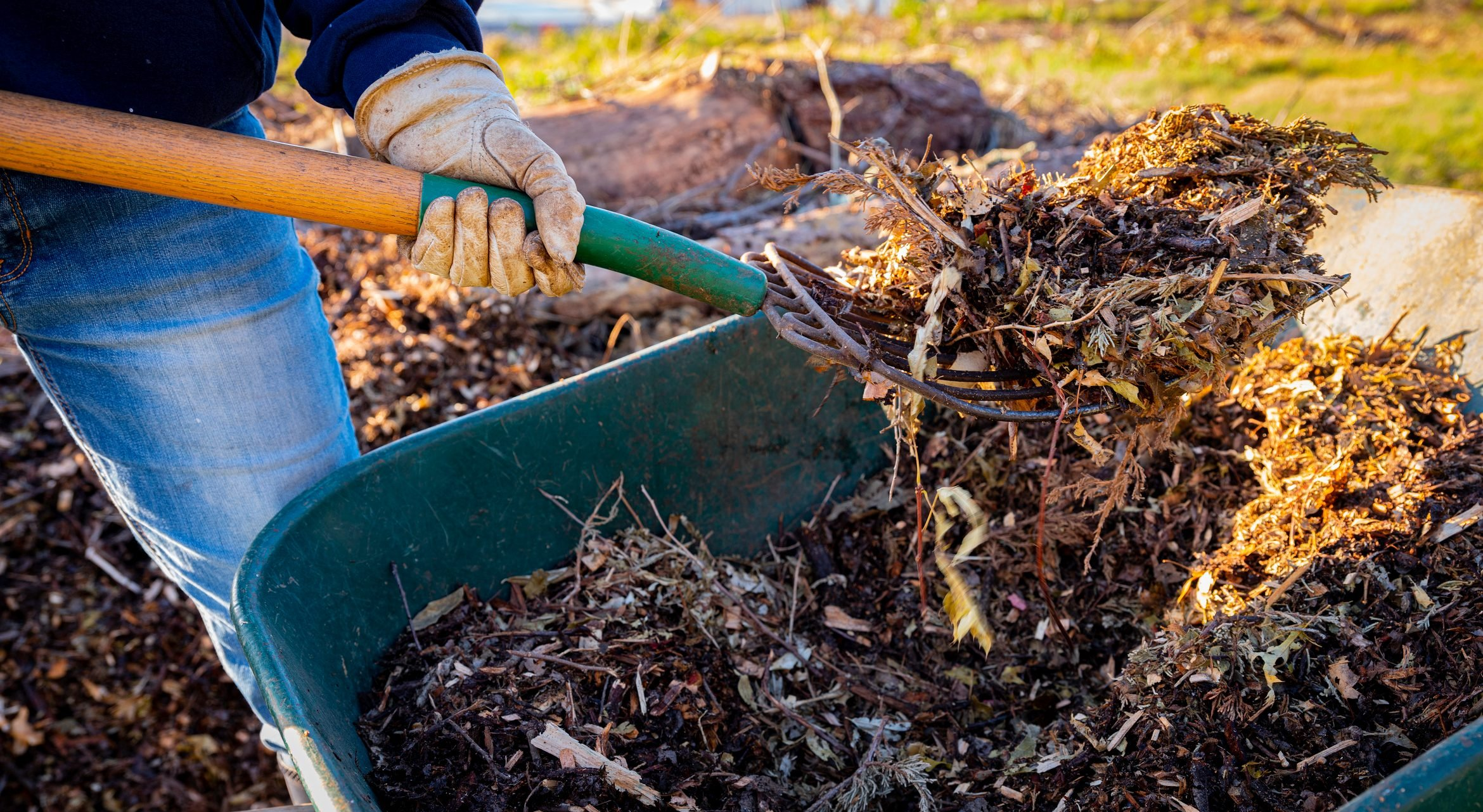 ruth stout method, natural mulch