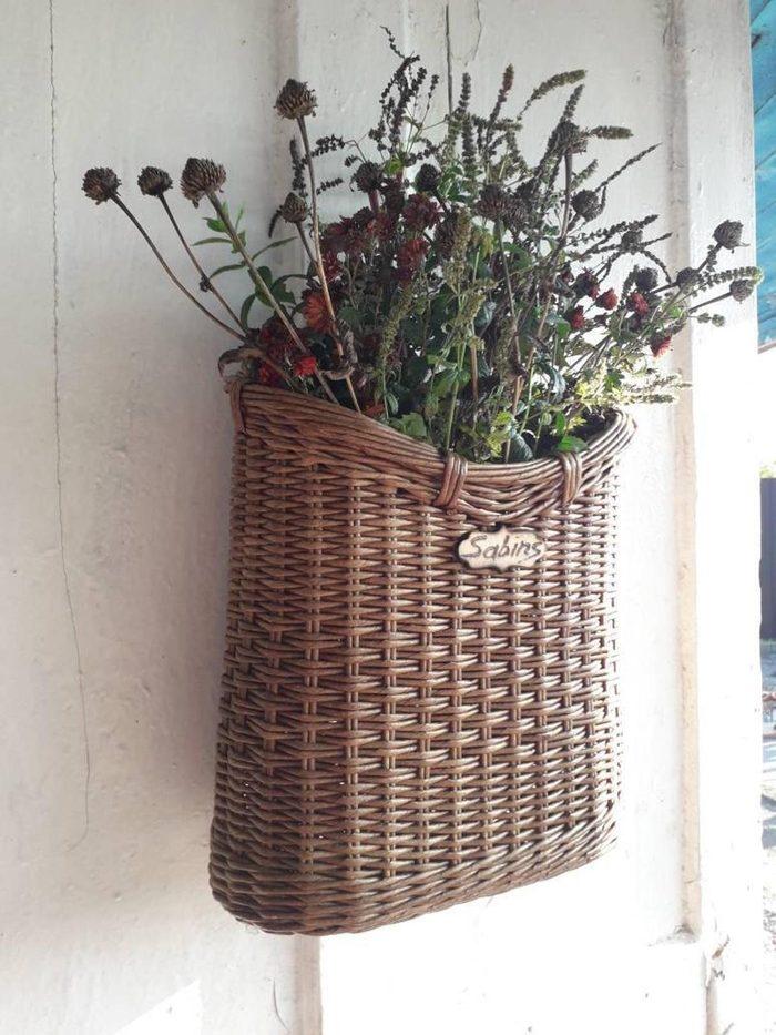 personalized door basket