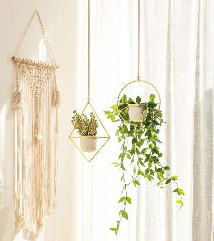 metal hanging pots