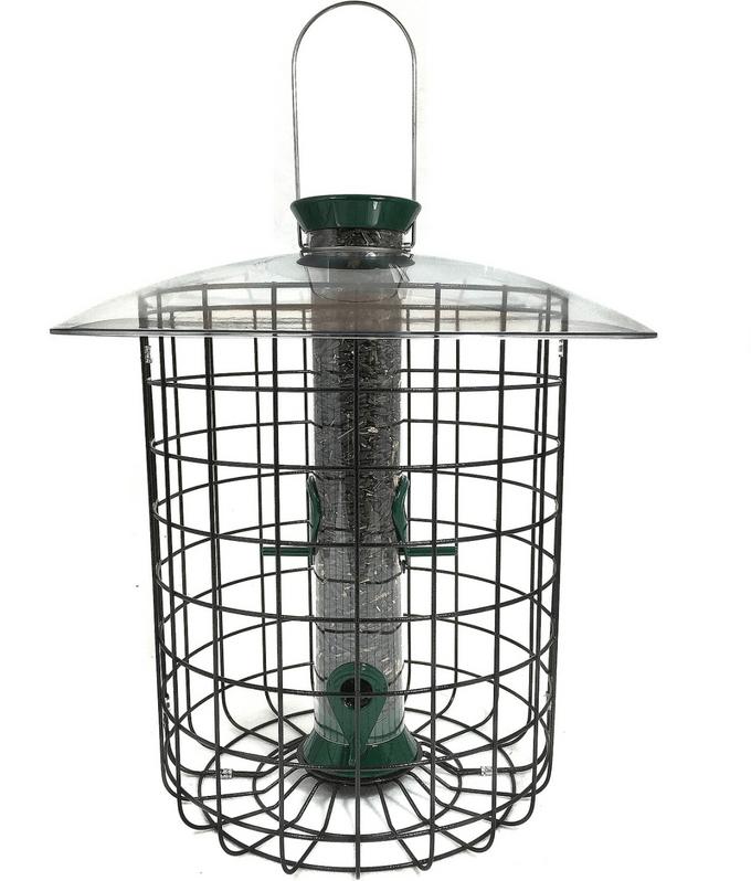 Caged squirrel proof Bird Feeder