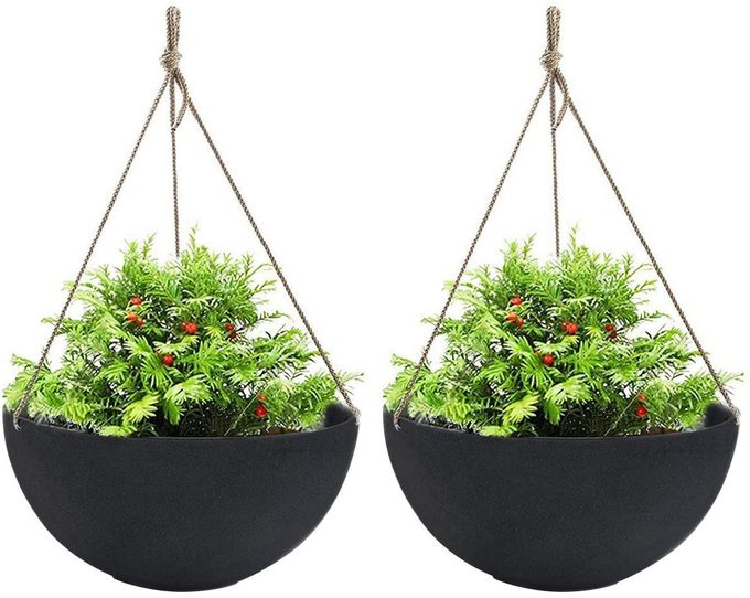 hanging planters, mother's day garden gifts