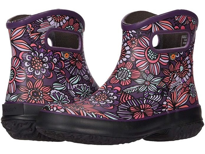 bogs patch ankle boot