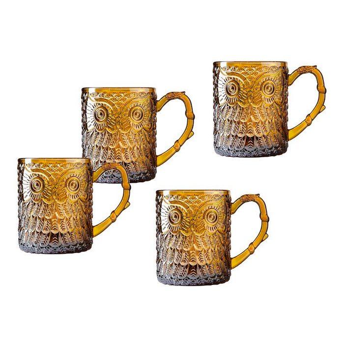Owl+12+oz.+glass+beer+mug