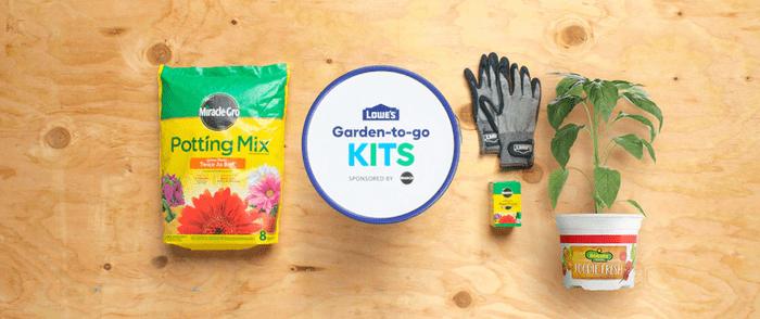 lowes garden kit