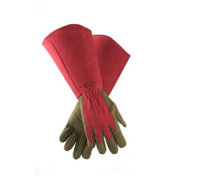 rose gauntlet garden gloves