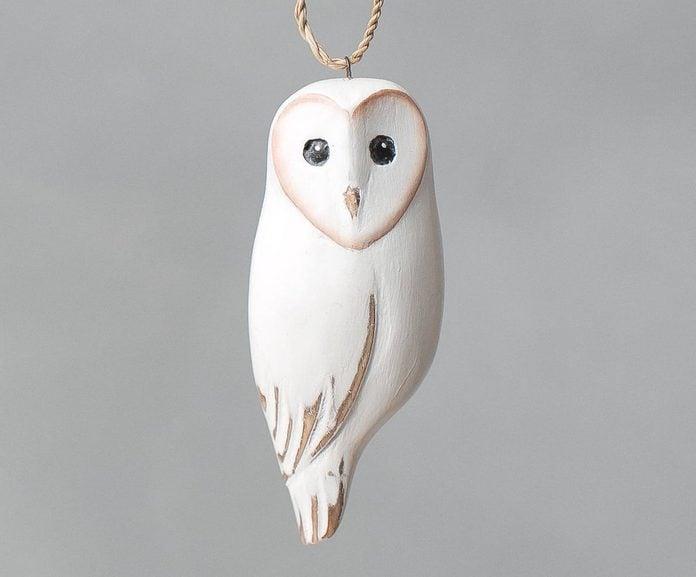 owl christmas ornament