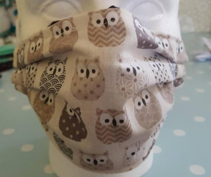 owl face mask, owl gifts