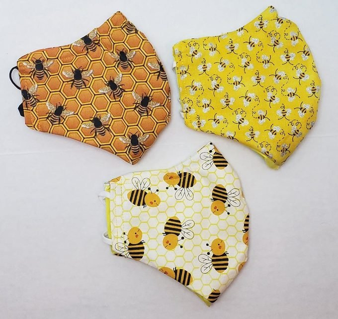 bee face mask, bee gifts