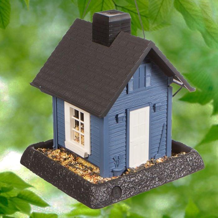 cottage bird feeder