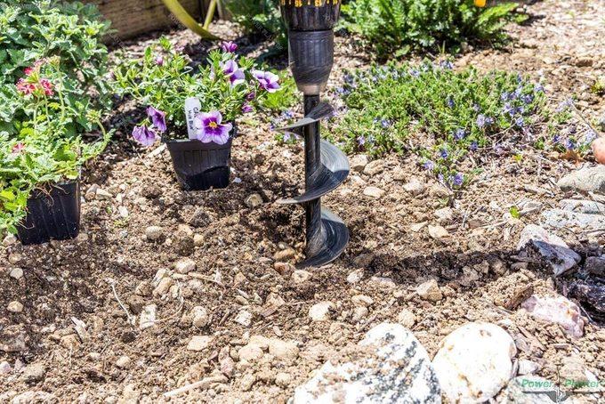 garden auger