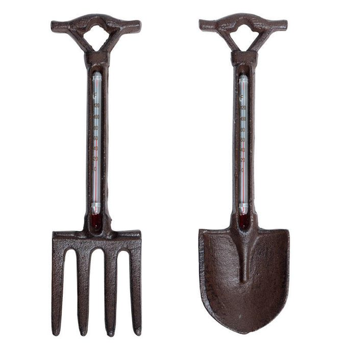 fork and trowel thermometer