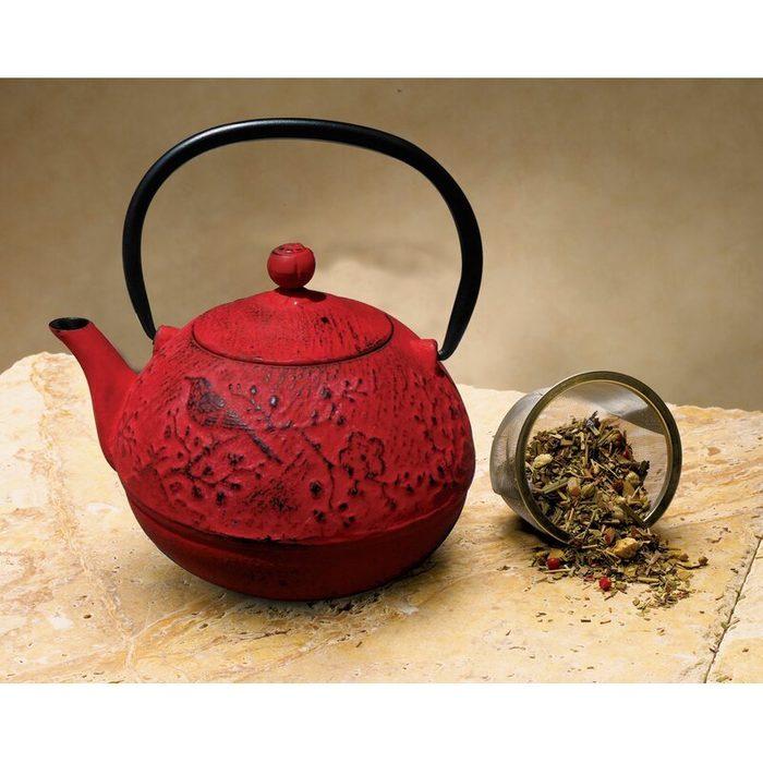 Newburg+24+ Oz.+cast+iron+teapot