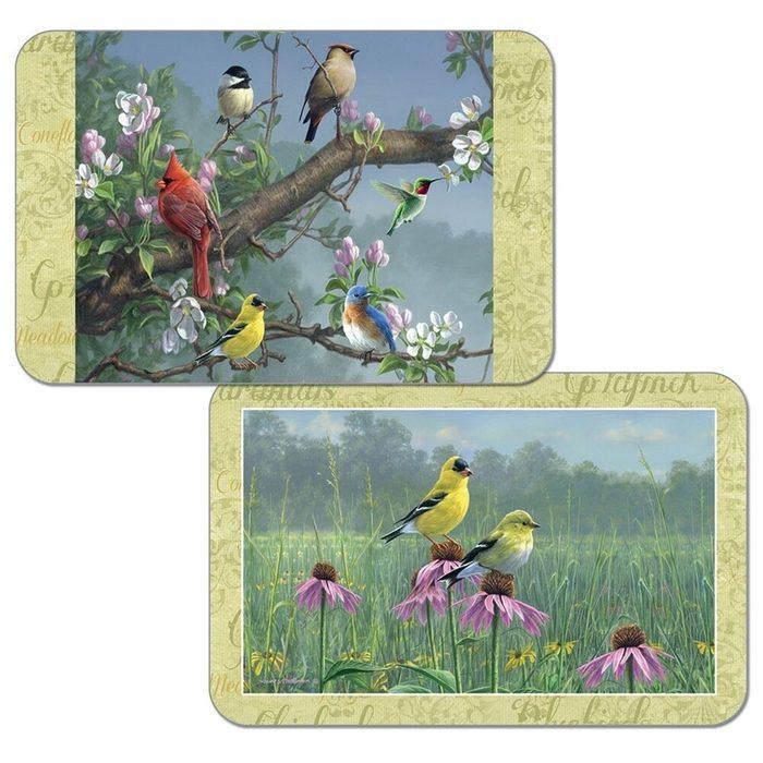 Reversible Wipe Clean Plastic Placemats Set Of 4 Beautiful Songbirds 29e5c396 7639 4787 A0ba 444da33887d6 1000
