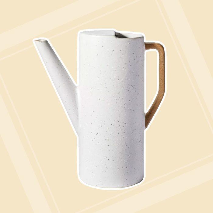 Ceramic Watering Can White Hilton Carter