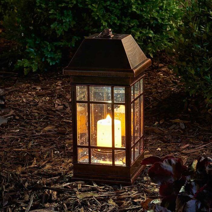 Outdoor Light Gillockbronzegillockpoweredledoutdoorlanternwithelectriccandle