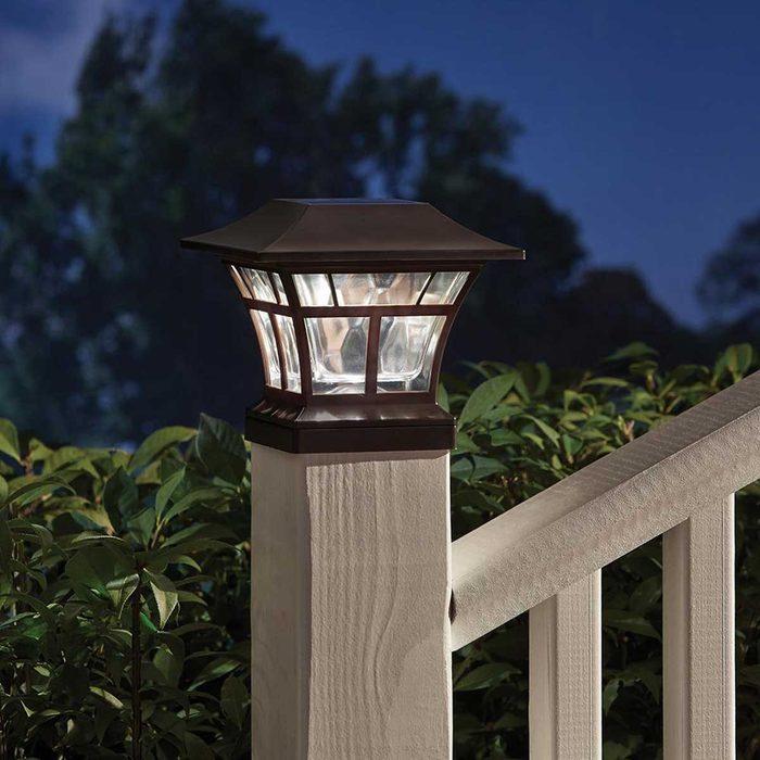 Outdoor Light Mediterranean Bronze Hampton Bay Deck Post Lights 84044 A0 1000