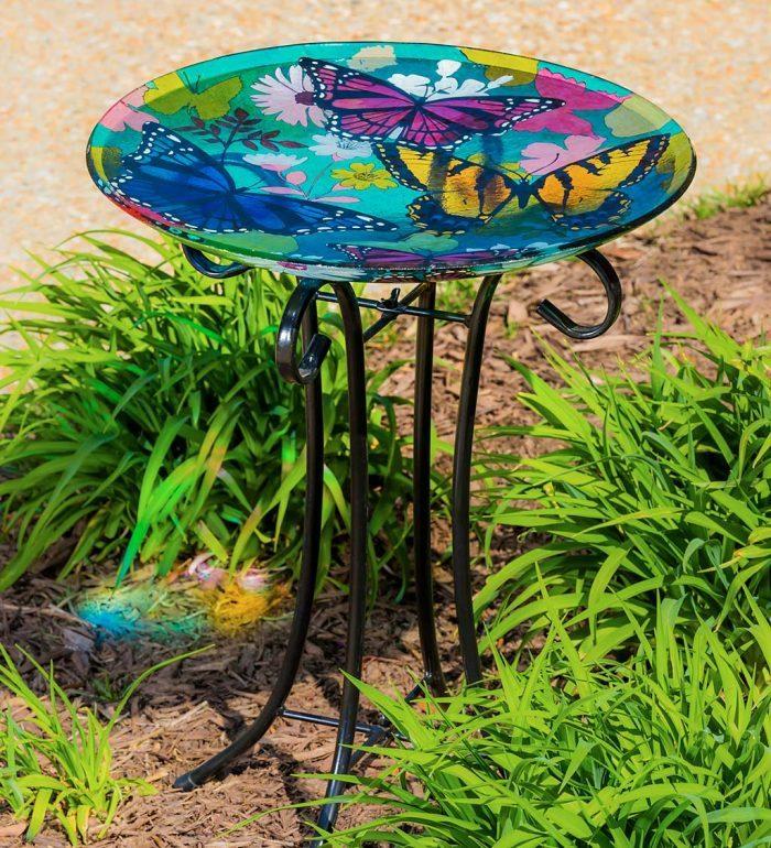 butterfly birdbath
