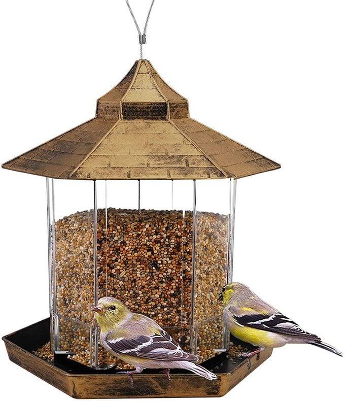 gazebo bird feeder