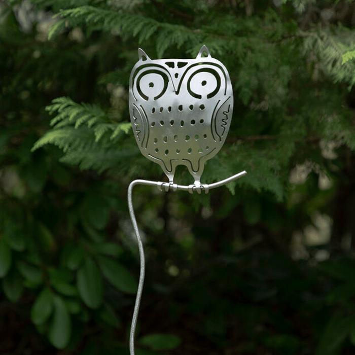 owl garden stake