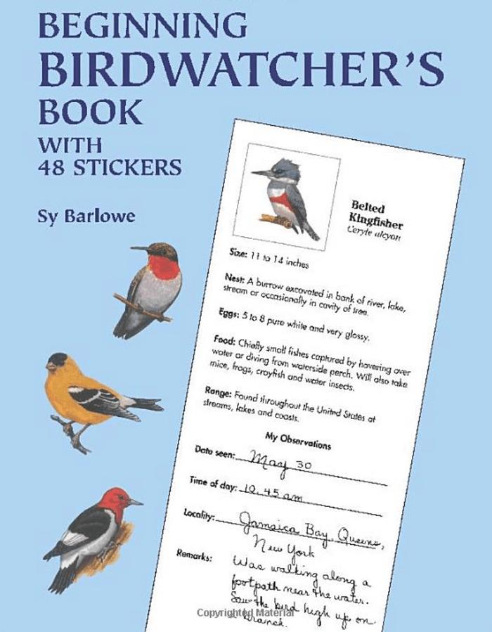 beginning birdwatchers book