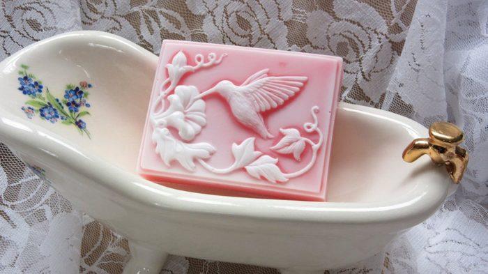 hummingbird soap