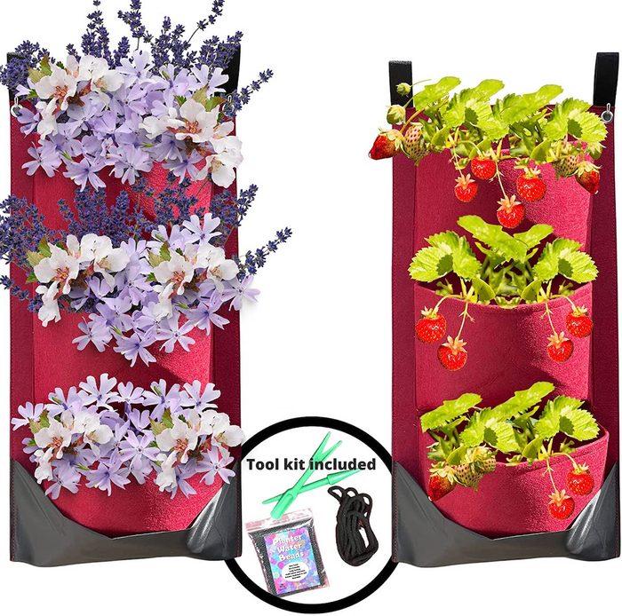 vertical pocket planter