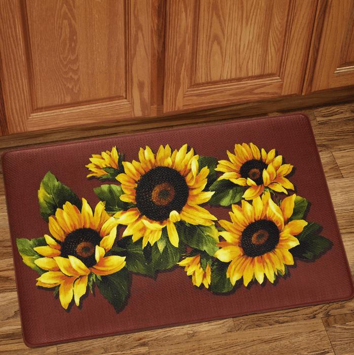 sunflower fatigue mat