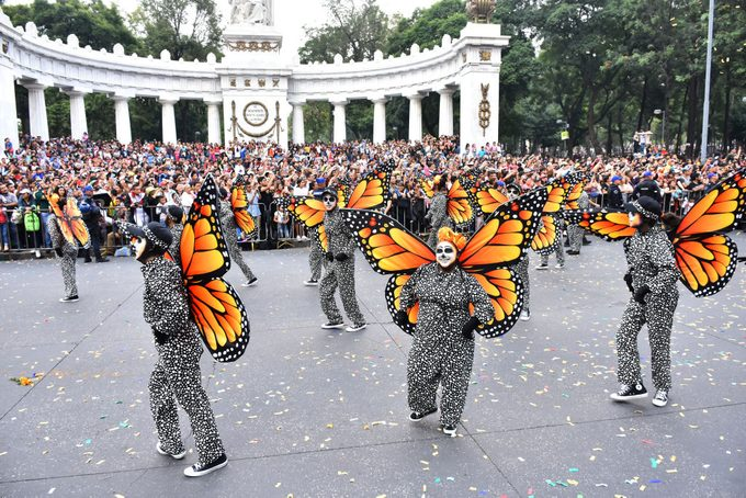 Day Of The Dead International Parade In Mexico City