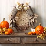 Welcome Fall With a Whimsical Owl Wreath