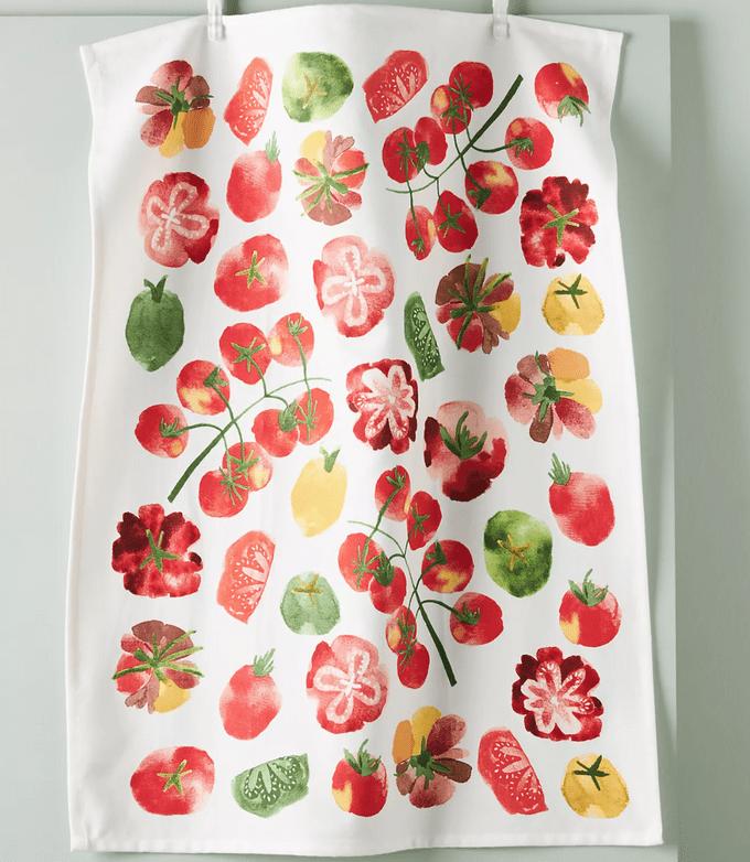 heirloom tomato towel
