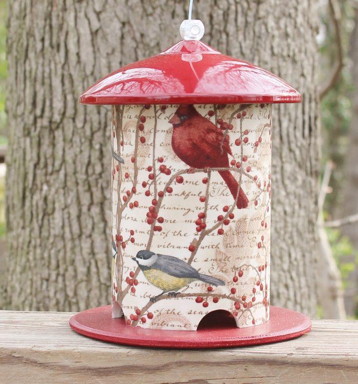 birds and berries winter bird feeder