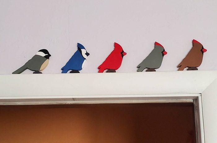 wooden cardinal